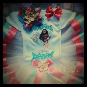 Other - Moana birthday outfit